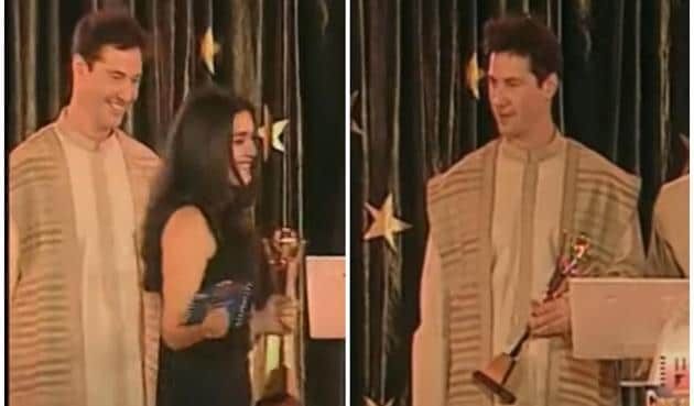 Keanu Reeves once presented an award to Preity Zinta at the Zee Cine Awards 1999.