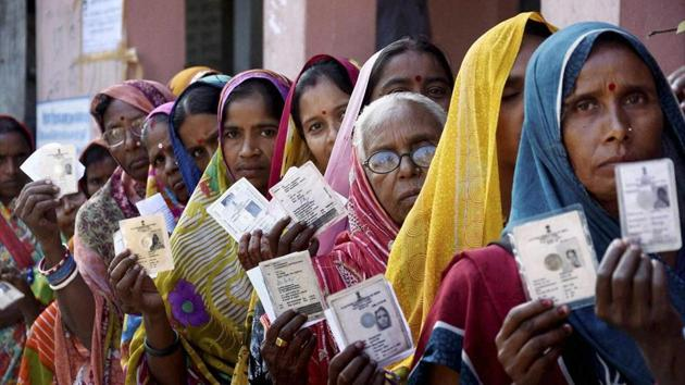 Bihar Result 2020:The counting of votes for the 243-member Bihar legislative election 2020 is in progress at 55 counting centres in the 38 districts of the state(PTI file)