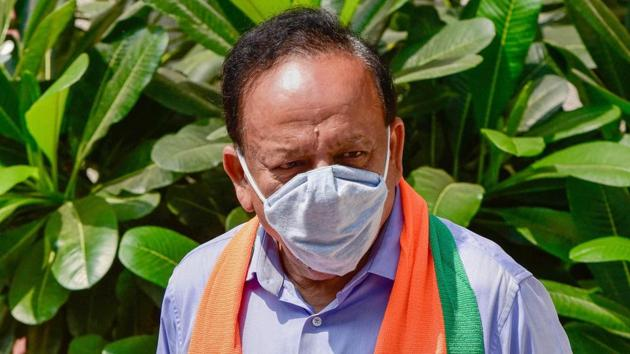 Union health minister Harsh Vardhan.(PTI File)