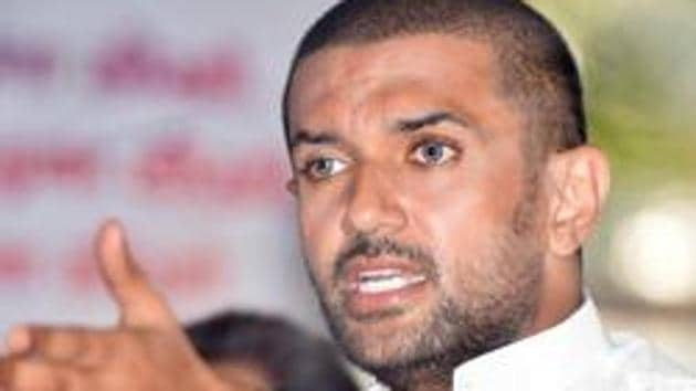 LJP President Chirag Paswan had targeted Nitish Kumar and his JD-U in the Bihar assembly election.(HT PHOTO)