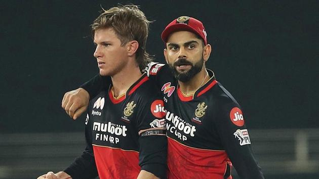 Adam Zampa and Virat Kohli(RCB/Twitter)