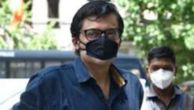 Arnab Goswami was arrested from his Mumbai residence on November 4.(Satish Bate/HT Photo)