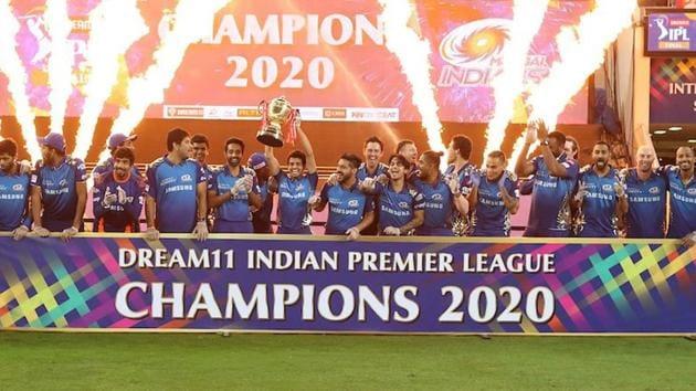 Mumbai Indians won their fifth IPL title.(MI/Twitter)