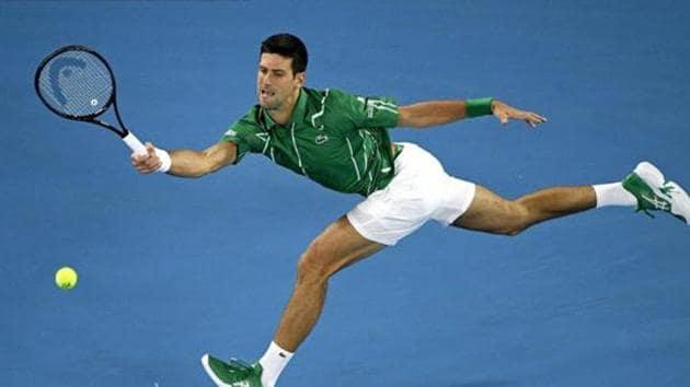 Serbia's Novak Djokovic.(AP)