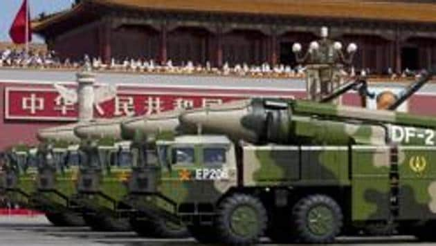 Recent key conclave of the ruling Communist Party of China (CPC) has finalised plans to build a fully modern military on par with the US by 2027.(AP file photo)