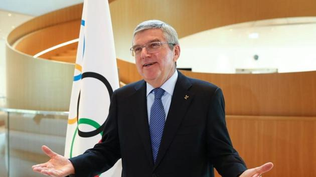 Thomas Bach, President of the International Olympic Committee (IOC).(REUTERS)