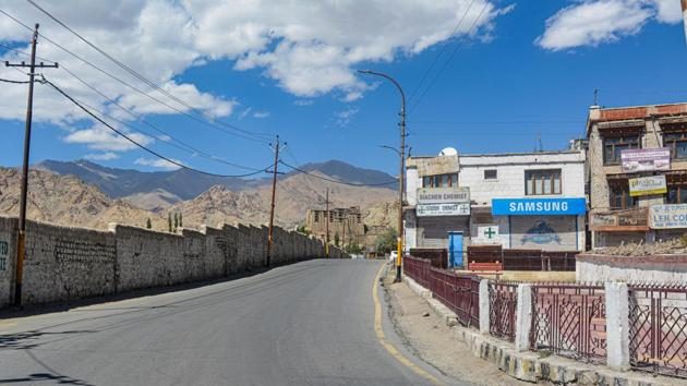 Twitter has recently made the mistake of showing Leh as part of J&K instead of Ladakh.(PTI)