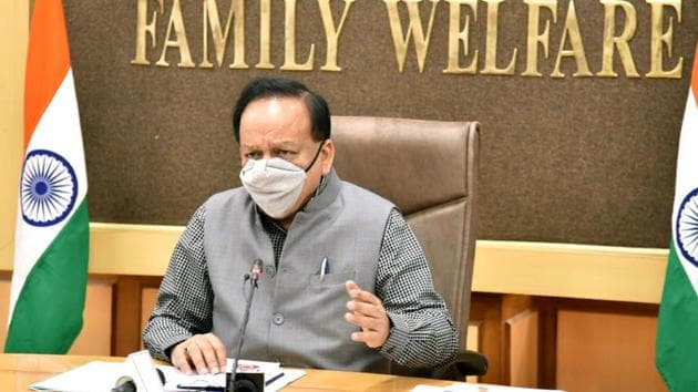 Union Minister for Health & Family Welfare, Dr. Harsh Vardhan(ANI photo)