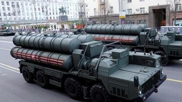 S-400 missile air defence systems.(REUTERS File)