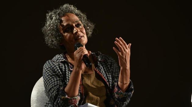 Arundhati Roy.(HT Archive)