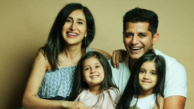 Actor Karanvi Bohra and Teejay Sidhu's four-year-old twin daughters, Bella and Vienna's Instagram handle is @twinbabydiaries