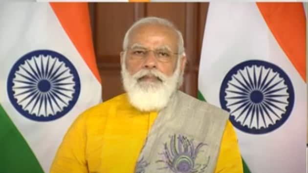 Earlier in the day, the PM had wished the nation on the occasion of Ayurveda Day.(Screengrab)