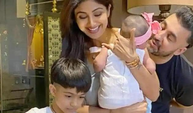 Shilpa Shetty, who has a daughter and a son, talks about her experience of motherhood and how she deals with meltdown.