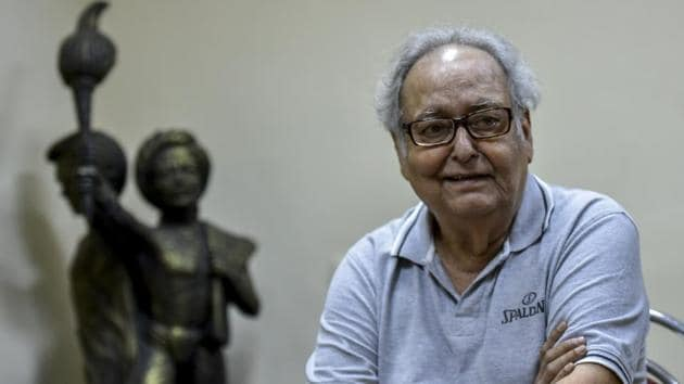 The Dadasaheb Phalke Award winner was admitted on October 6 after he tested positive for Covid-19. Chatterjee tested negative on October 14 but his neurological system was affected by Covid encephalopathy.(HT PHOTO.)