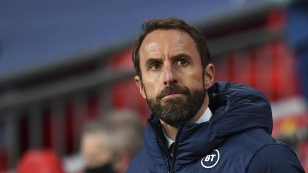 England's manager Gareth Southgate .(AP)