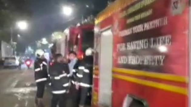 The fire was brought under control and no casualties were reported.(ANI/Twitter)