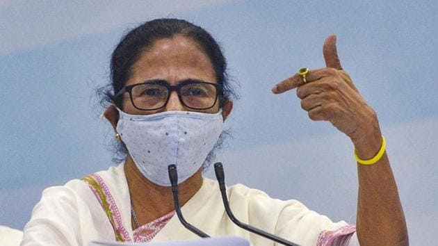 West Bengal chief minister Mamata Banerjee and poll strategist Prashant Kishor are pulling out all stops to control rebel party heavyweight and transport minister Suvendu Adhikari in the districts of the state.(PTI PHOTO.)