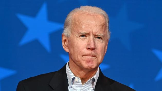 Biden officials said on Friday they would press forward with the transition, identifying legislative priorities, reviewing federal agency policies and preparing to fill thousands of jobs in the new administration.(AFP Photo)