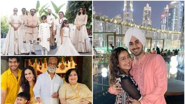 Diwali 2020: Many stars from Indian film fraternity celebrated the festival of lights and posted pictures.