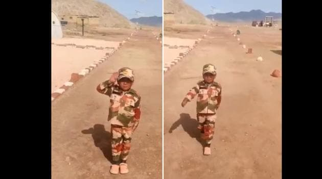 Nawang Namgyal is going viral all over again.(Twitter/@ITBP_official)