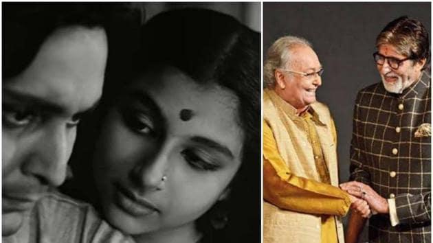 Soumitra Chatterjee and Sharmila Tagore made their acting debut with Satyajit Ray's Apur Sansar.