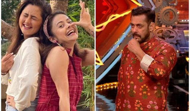 Salman Khan reminded Bigg Boss 14 contestants that Devoleena Bhattacharjee and Rashami Desai were out of the earlier season of the show within five weeks.