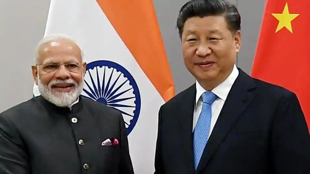 Prime Minister Narendra Modi and President Xi Jinping will be attending a virtual summit of the Brazil-Russia-India-China-South Africa (Brics) grouping on Tuesday.(ANI FILE PHOTO)