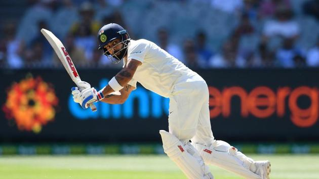 Virat Kohli of India bats during day two of the Third Test match in the series between Australia and India at Melbourne Cricket Ground on December 27, 2018 in Melbourne, Australia.(Getty Images)