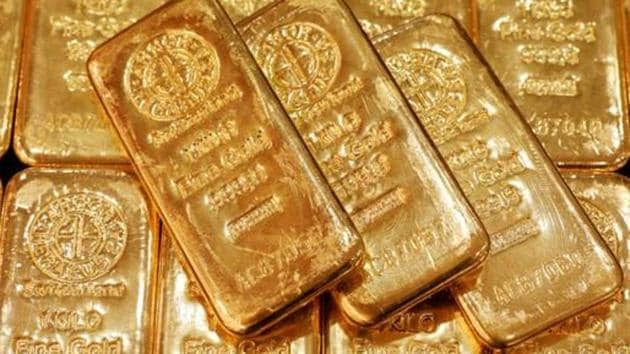 US gold futures were up 0.5% at $1,894.90.(Reuters)