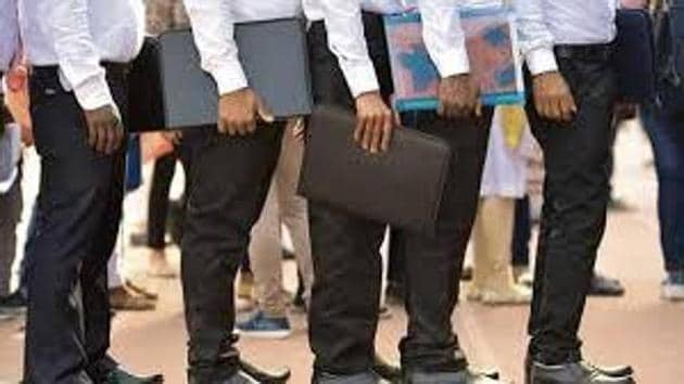 On an year-on-year basis, hiring activities were down 17.6 per cent in October.(File photo)