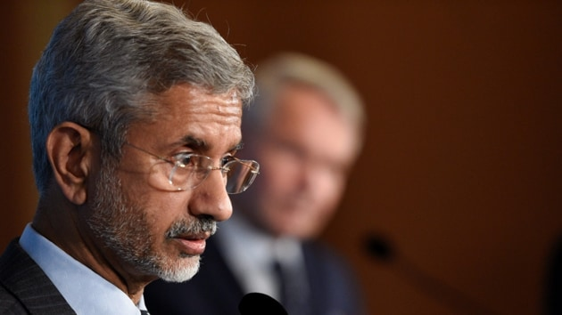 External Affairs Minister S Jaishankar's comments came during a virtual discussion with his Canadian counterpart François-Philippe Champagne on Tuesday.(REUTERS)