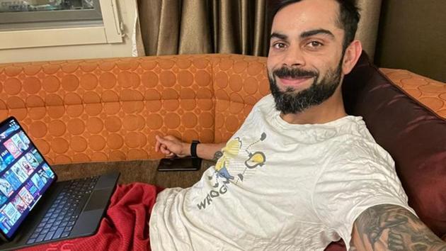 Indian captain Virat Kohli in Australia(Twitter)