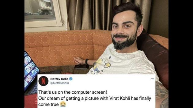 Netflix India responded to Virat Kohli's tweet.(Twitter)