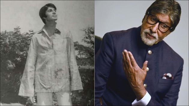 Big B reminisces yesteryear fashion of teaming bell bottoms with flared sleeves(Instagram/amitabhbachchan)