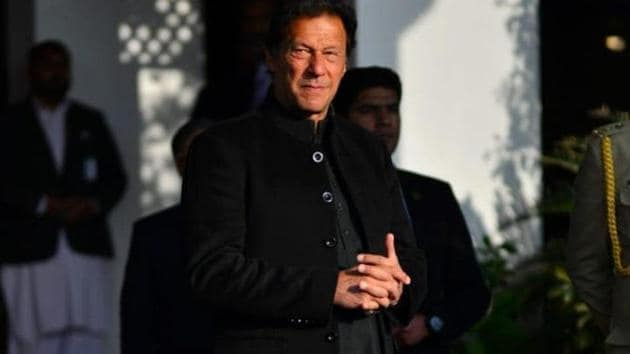 Pakistan Prime Minister Imran Khan's government has been working on tarnishing India's reputation for more than a year(Photo courtesy: Facebook/Imrankhanofficial)