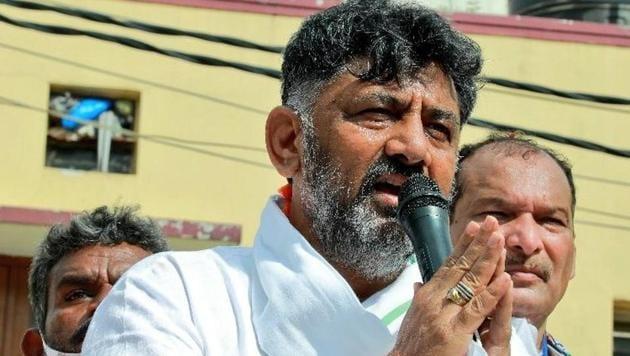 Karnataka Congress chief DK Shivakumar (twitter.com/KPCCPresident)