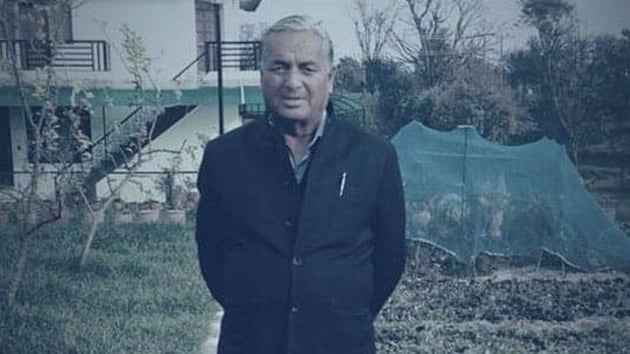Former Himachal Pradesh assembly speaker and BJP leaderTulsi Ram(78) breathed his last at Palampur in Kangra district on Monday night.(Image via Twitter)