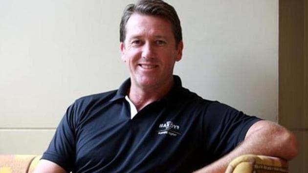 Glenn McGrath.(AMAL KS /HINDUSTAN TIMES)