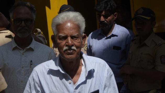 Varavara Rao.(HT file)