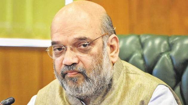Union home minister Amit Shah.(File photo)