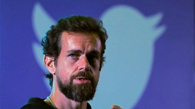 Jack Dorsey testified that the Twitter has removed around 300,000 election-related tweets.(REUTERS)