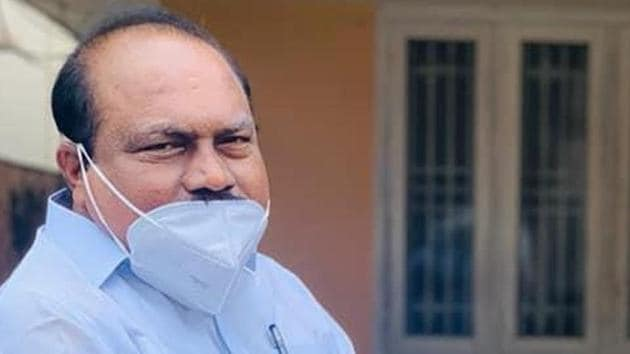 MLA V K Ebrahim Kunju was arrested on Tuesday in connection to the Palarivattom flyover scam. IUML termed his arrest 'politically motivated.'(Facebook/Ebrahimkunjuvk)