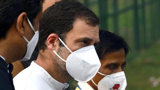 Congress leader Rahul Gandhi(ANI)