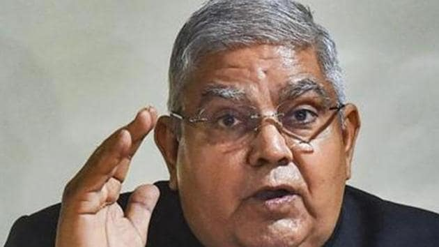 West Bengal governor Jagdeep Dhankhar has asked for a report on the incident from Bengal home secretary and Bengal top cop.(PTI Photo)