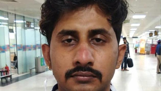 Juber, the man who murdered Neeraj Gupta.(Source: Delhi Police)