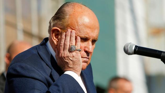 Giuliani went on to claim that Philadelphia has cheated in about every single election in the last 60 years.(REUTERS)