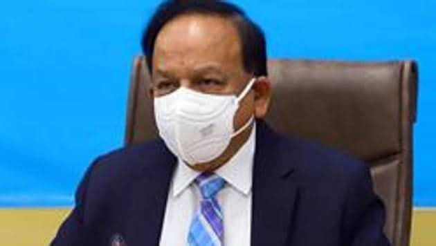 Union Health Minister Harsh Vardhan.(ANI)