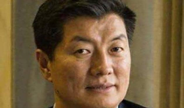 """The visit by Lobsang Sangay, president of the Central Tibetan Administration (CTA), to the White House, was described by the Tibet.net website run by CTA as a """"historic feat"""".(TWITTER/@Drlobsangsangay.)"""