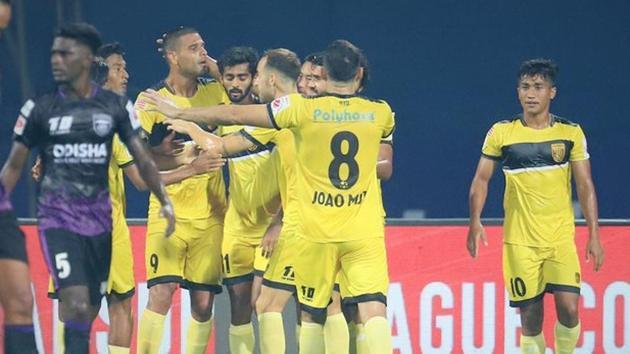 Hyderabad FC beat Odisha FC 1-0(ISL/Twitter)