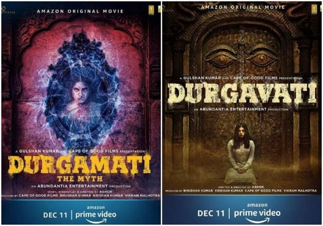 Duragmati poster has Bhumi Pednekar in a new avatar.